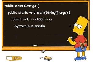 barth simpson aprendendo programação